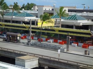 Honolulu International Airport overseas terminal rooftop replacement project