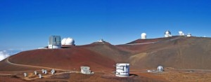 Observatories in the Summit Region Source: Mauna Kea Observatories Support Services