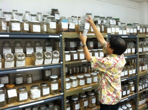 Photo of a Chinese Herbal Medicine Shop in Downtown Honolulu Source: Institute for Clinical Acupuncture and Oriental Medicine