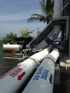NELHA's seawater distribution system