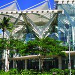 The Hawaii Convention Center is located near Waikiki in Honolulu