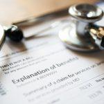 Sthethoscope and medical documents